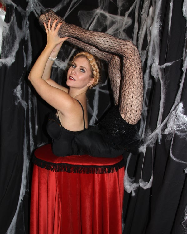 Freaky Contortionist Costume With False Legs