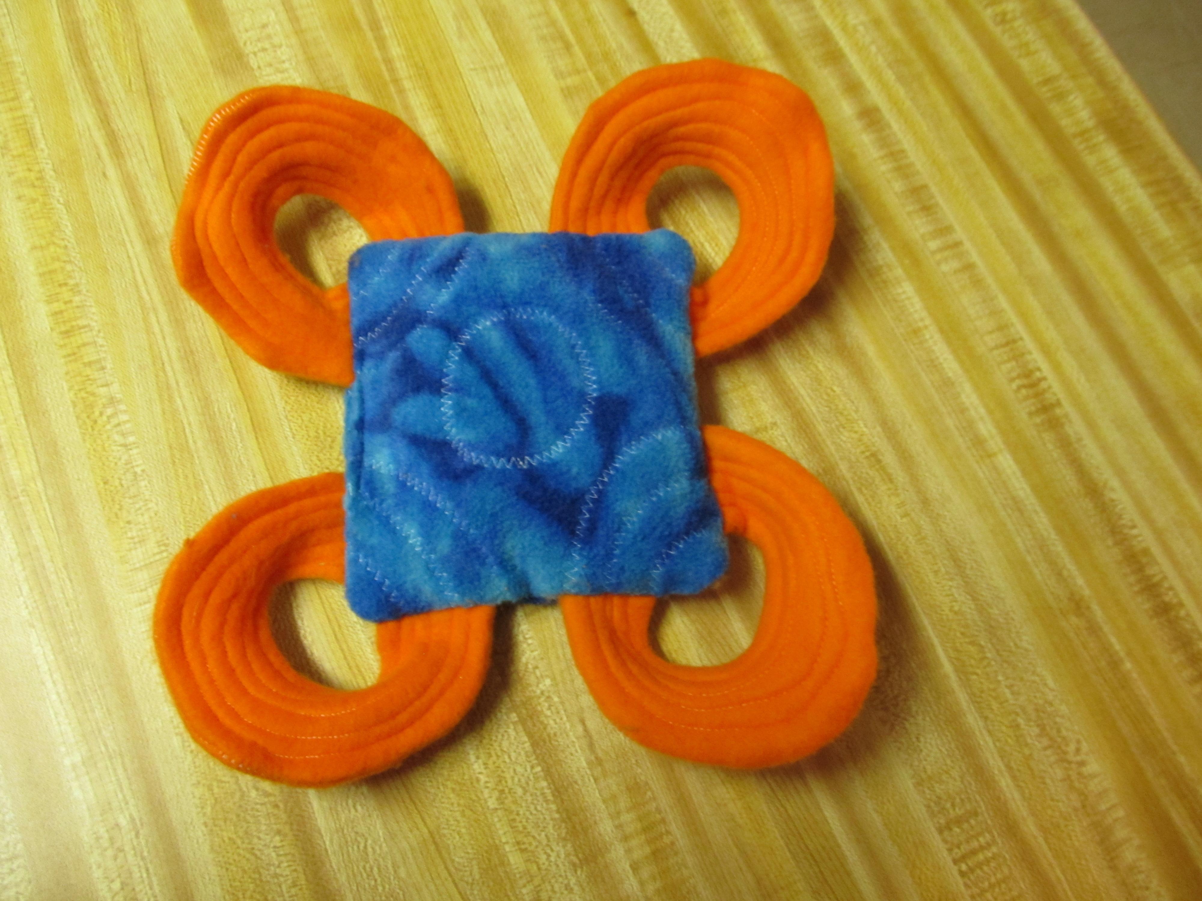 Hopefully Indestructible Stuffed Dog Toy