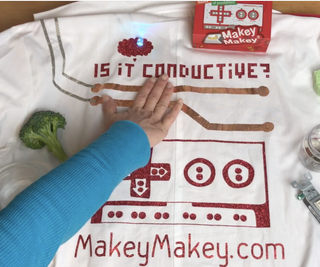 """""""Is It Conductive?"""" Makey Makey Experiment"""