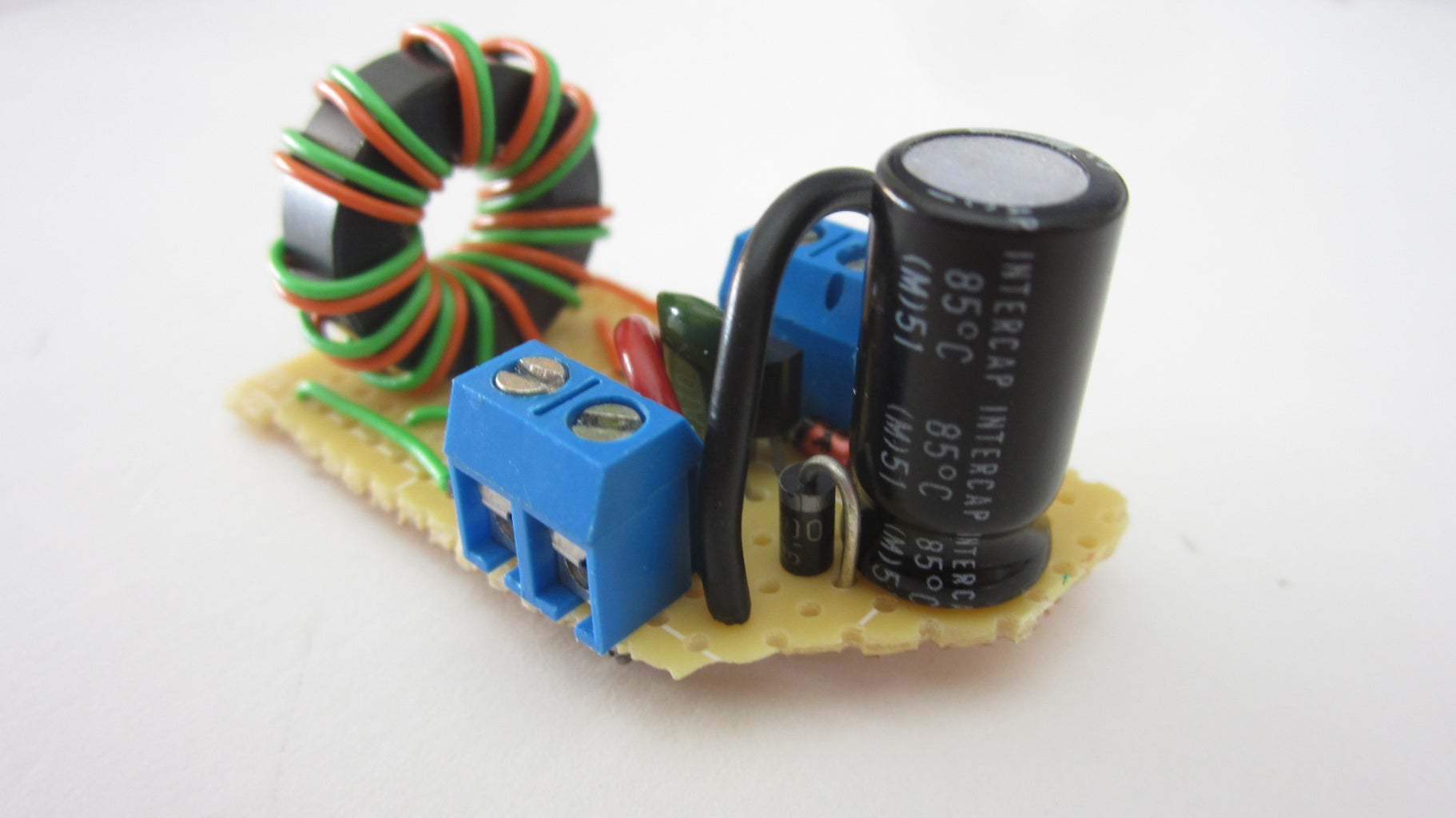 Solder the Circuit Together on a Circuit Board