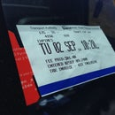 Pay Parking Ticket Holder from a Credit Card