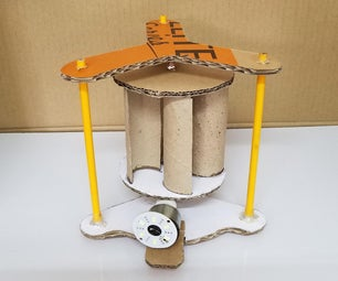 How to Make a Very Simple Savonius Wind Turbine