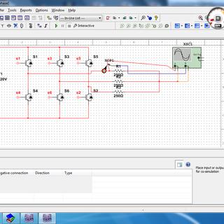 H Bridge Inverter Simulation Using NI Multisim and Co-simulation Using NI LabVIEW