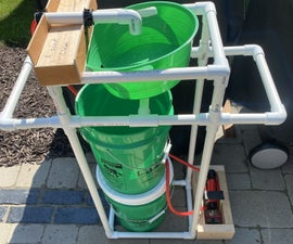 Hand Washing Station Frame