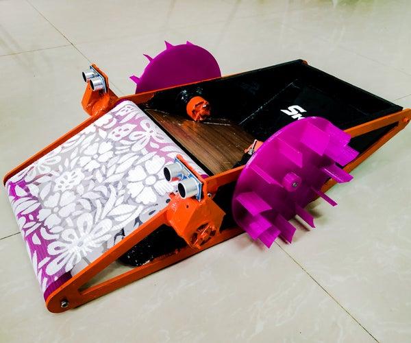 SKARA- Autonomous Plus Manual Swimming Pool Cleaning Robot