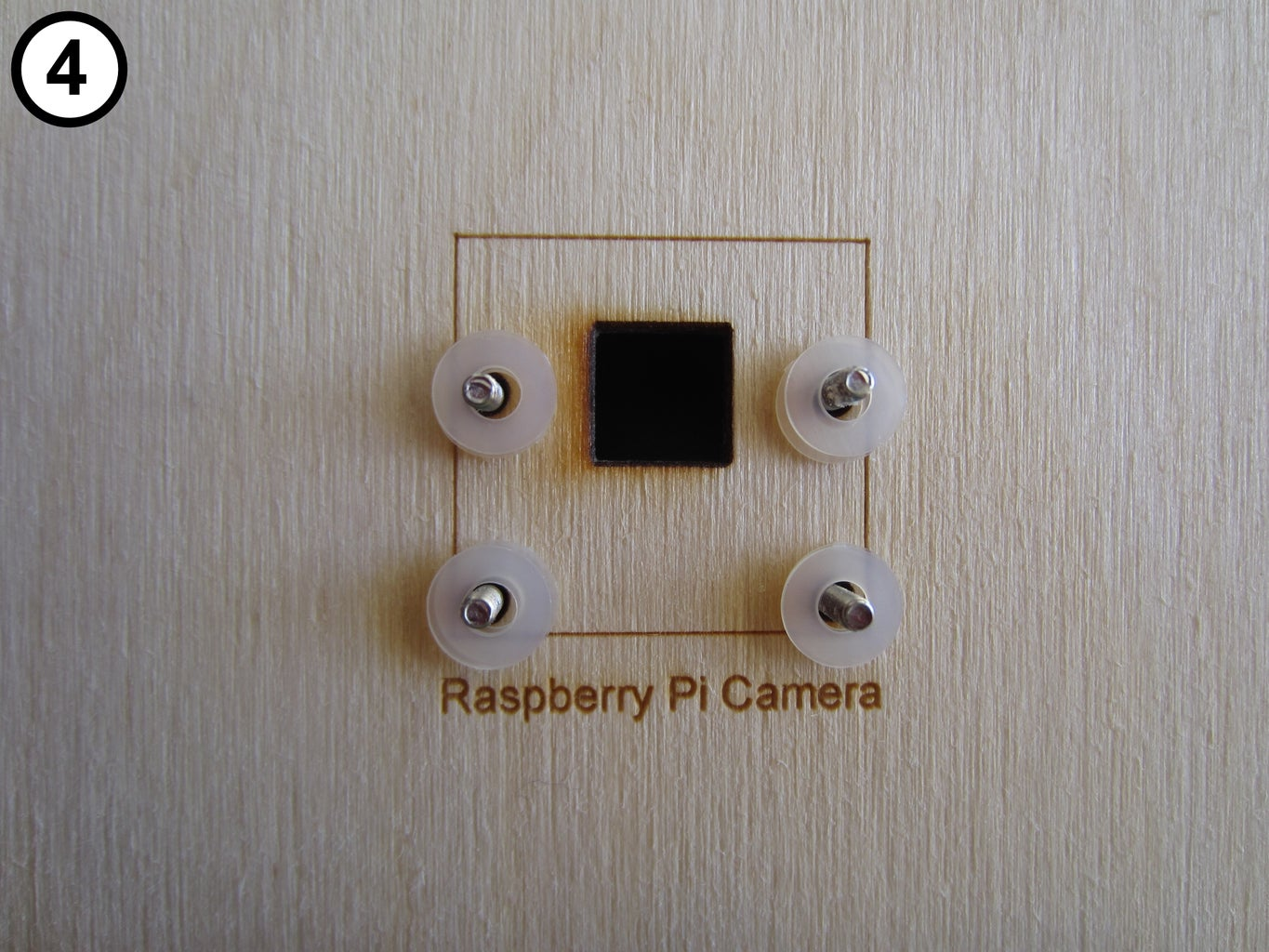 Mount the Camera on the Front Panel