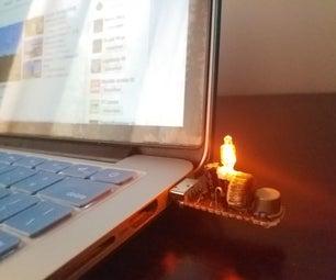 Neon Stick (USB Neon Inverter) [And Flash Drive...]