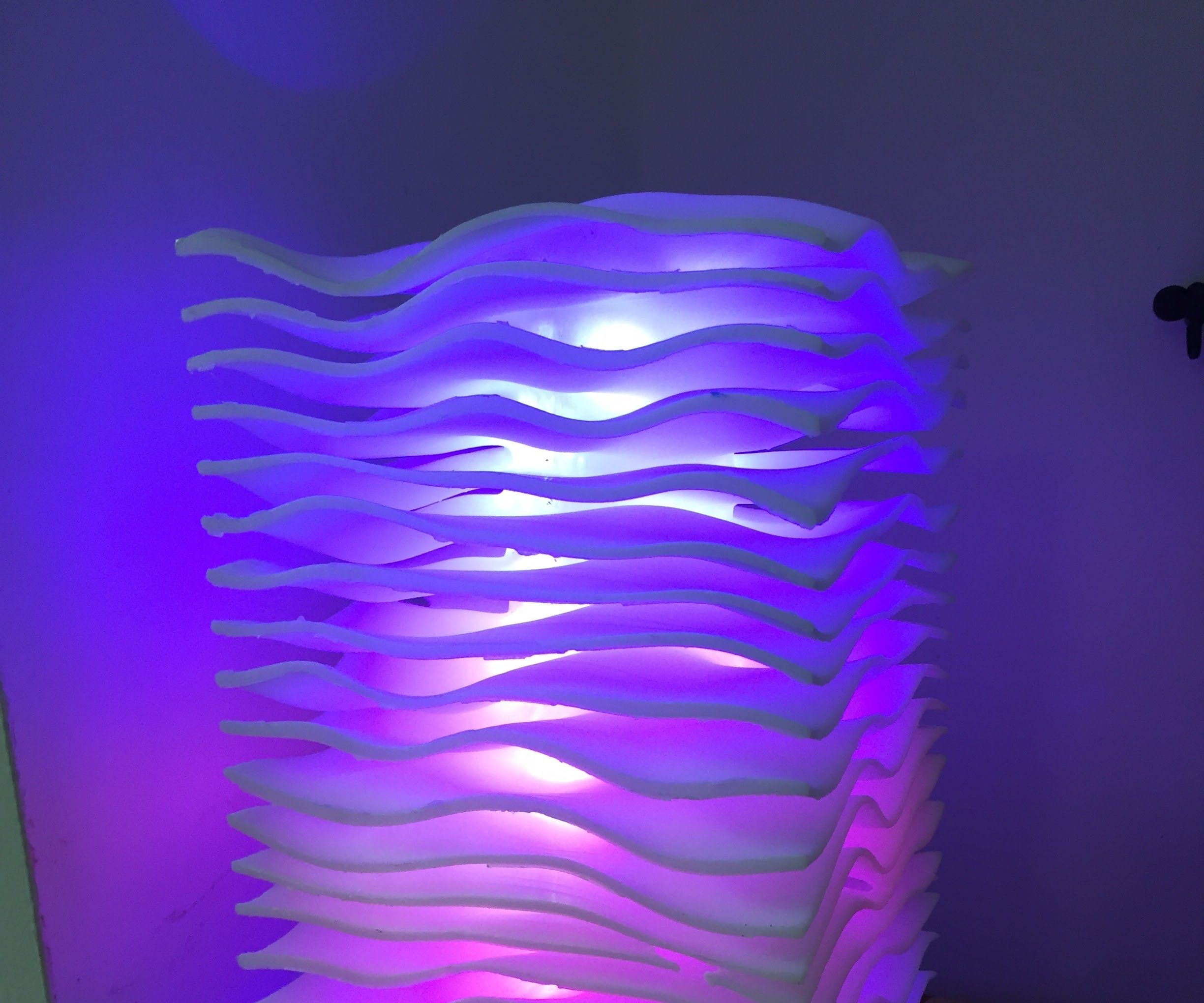 Wave Lamp - Weather and Alerts