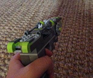 Green Neon Lego Laser Pistol