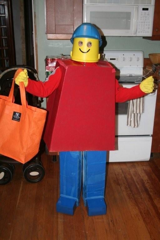 How to Make a Lego Man Costume.