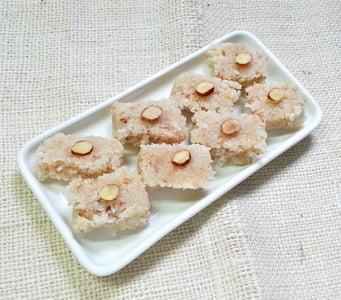 Prepare Sweetened Coconut Bars