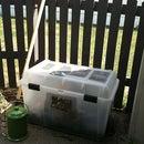 Simple, cheap compost bin!