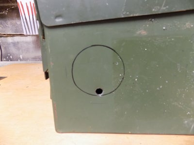Cutting the Speaker Holes