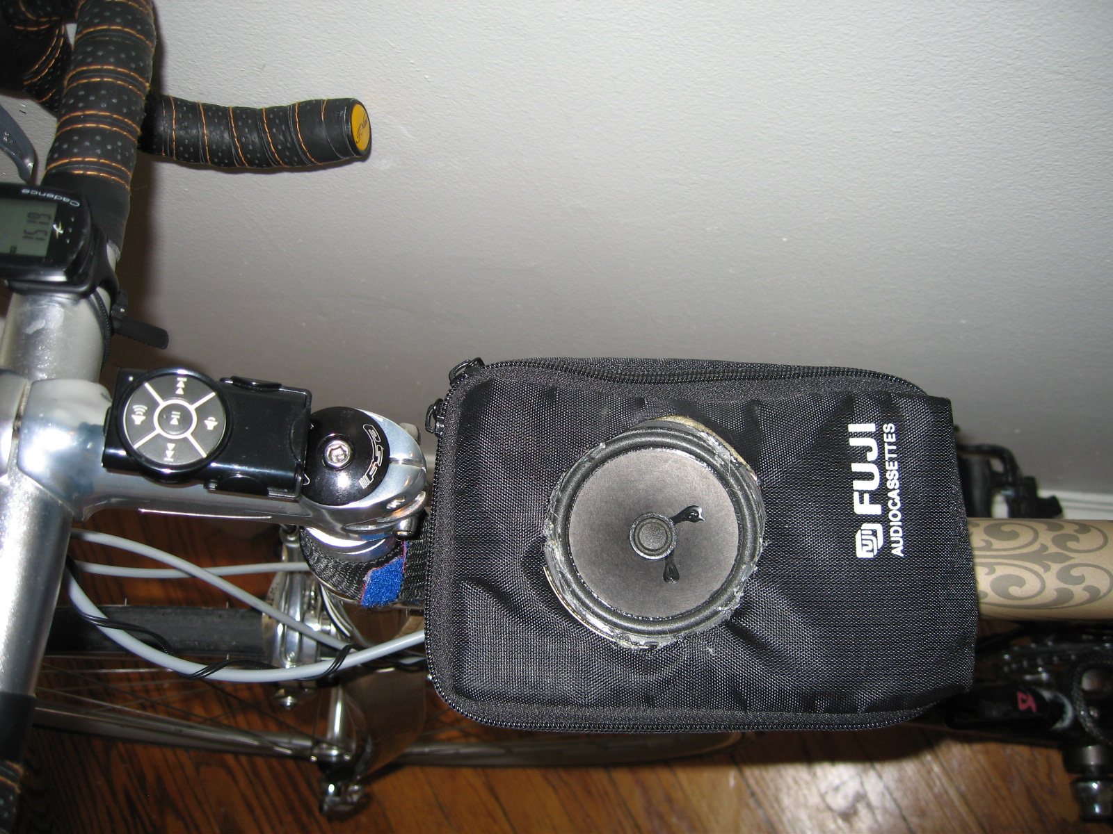 iPod/MP3 Player Bicycle Speaker