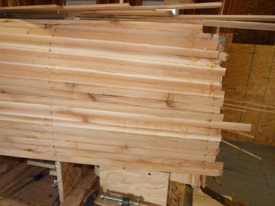 Trim Strips at Stems and Attach Outer Stems