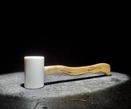 从木柴到槌,只使用手工工具