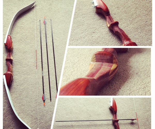 Takedown Recurve Bow - Home Made