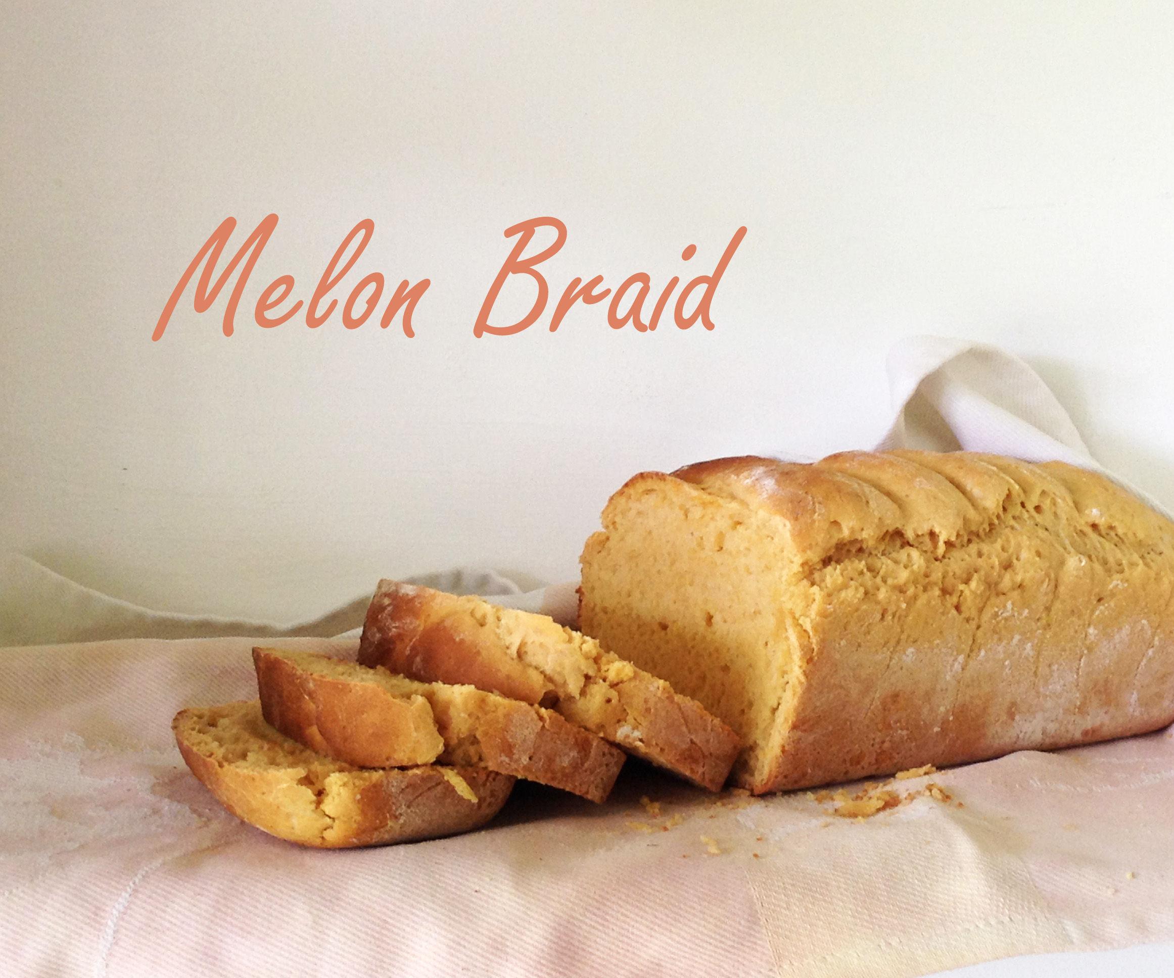 Watermelon Braid (Bread)