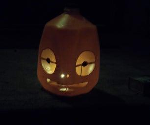 Cheap Jack-o-lantern!