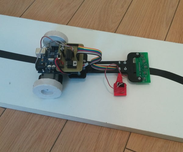Line Follower Robot With Arduino - Very Fast and Very Simple