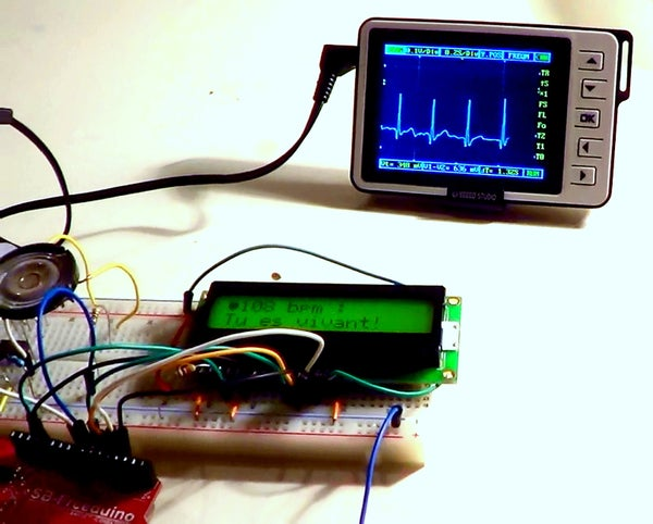 Electrocardiograph & Heart Rate Monitor