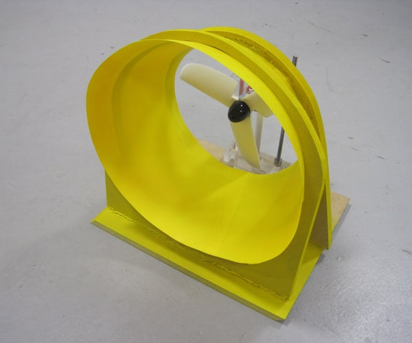 How to Build a 'wasp' Wind Turbine
