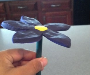 Cool Clay Flower