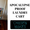 Carro de lavandería a prueba de apocalipsis