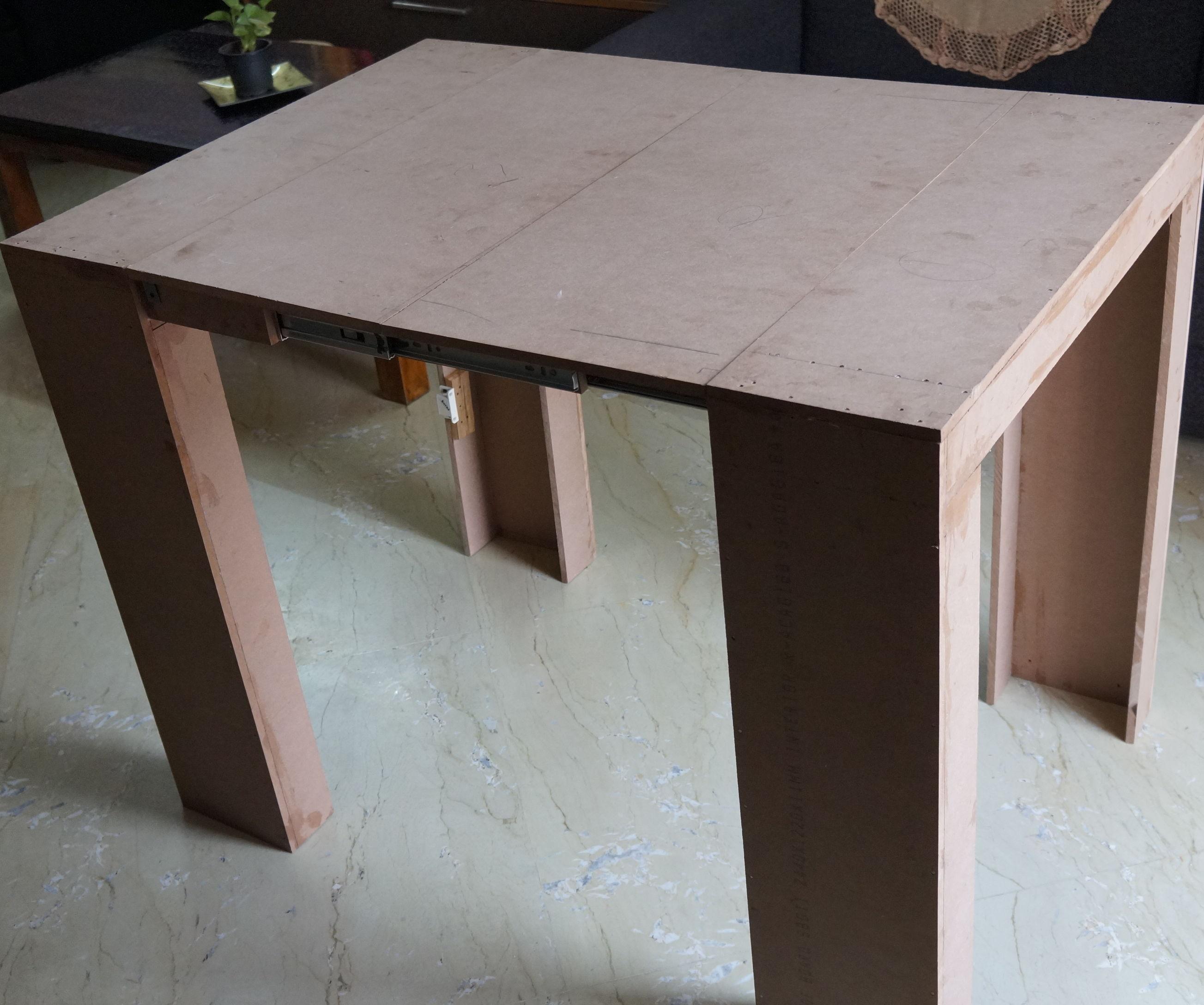 Foldable Study Cum Dinning Table