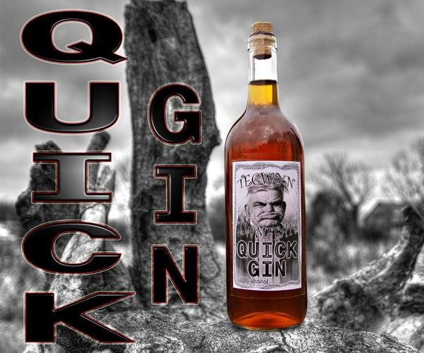 Quick Gin Using Diatomaceous Earth