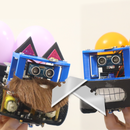 DIY Mario Kart Balloon Battle Robots