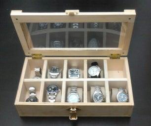 Clock Storage Box