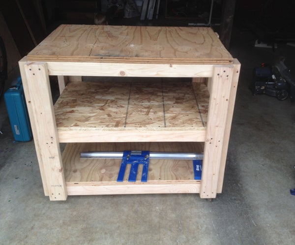 Mobile Saw/Work Table