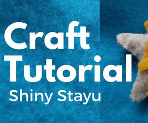 How To: Make a Felt Staryu Pokemon