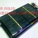 Solar Charging Back Case Cover For Smartphones Under 4$