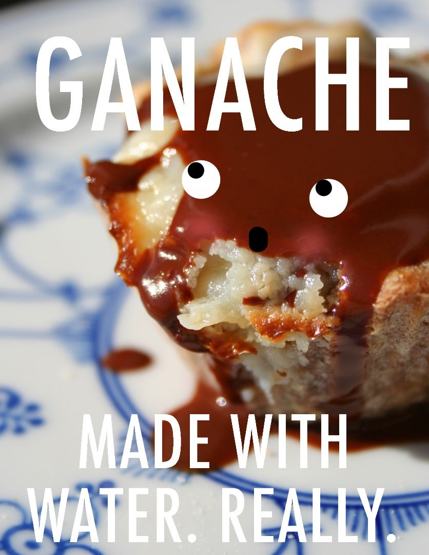 How to Make Ganache With Water Instead of Cream