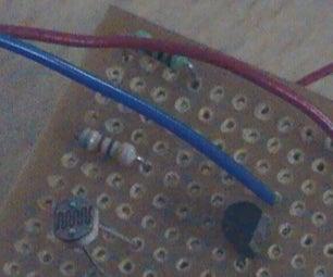 Laser Powered Burglar Alarm