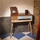 Vintage Radio = New Chest of Drawers