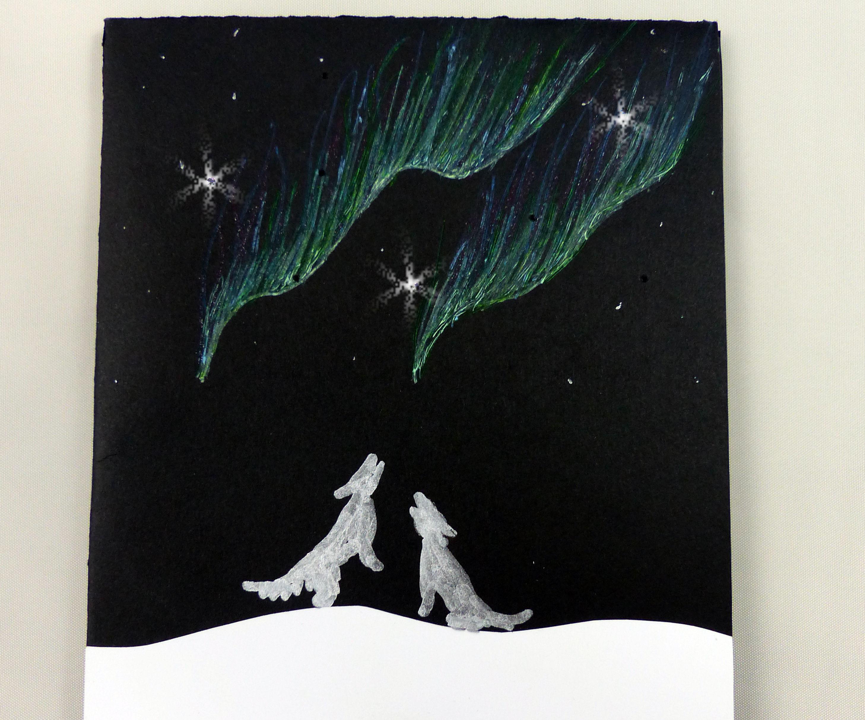 Twinkling Stars Chibitronics Card