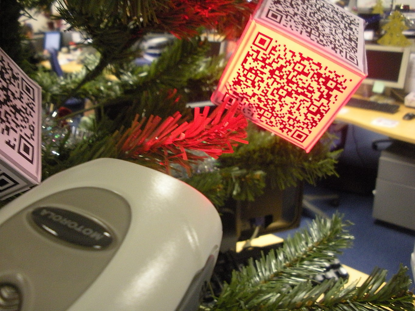 Provide a Barcode Scanner