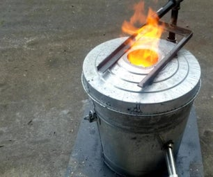 How I Built a Foundry Furnace in a Bucket
