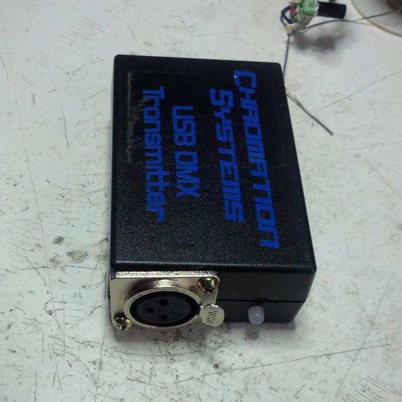 FTDI USB Adapter Based DMX Transmitter With Isolation