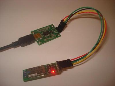 Configure the BlueSmirf Module Via USB