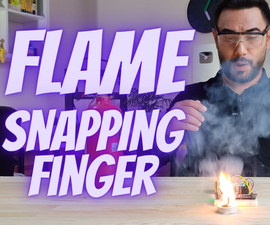 Flame the Candle by Snapping Your Finger