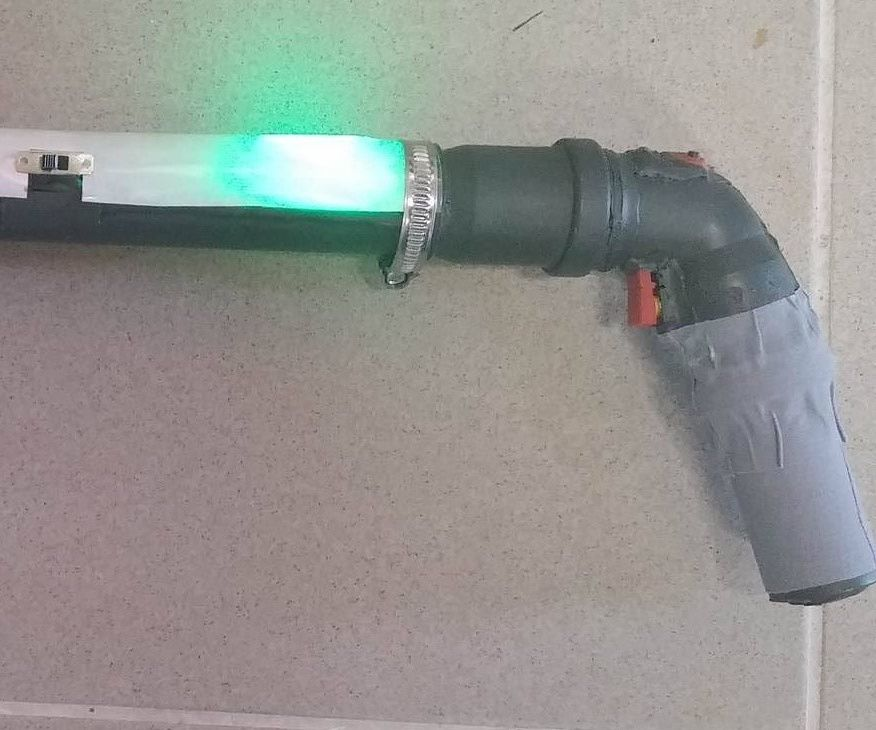 Simple AVR Laser Game Gun