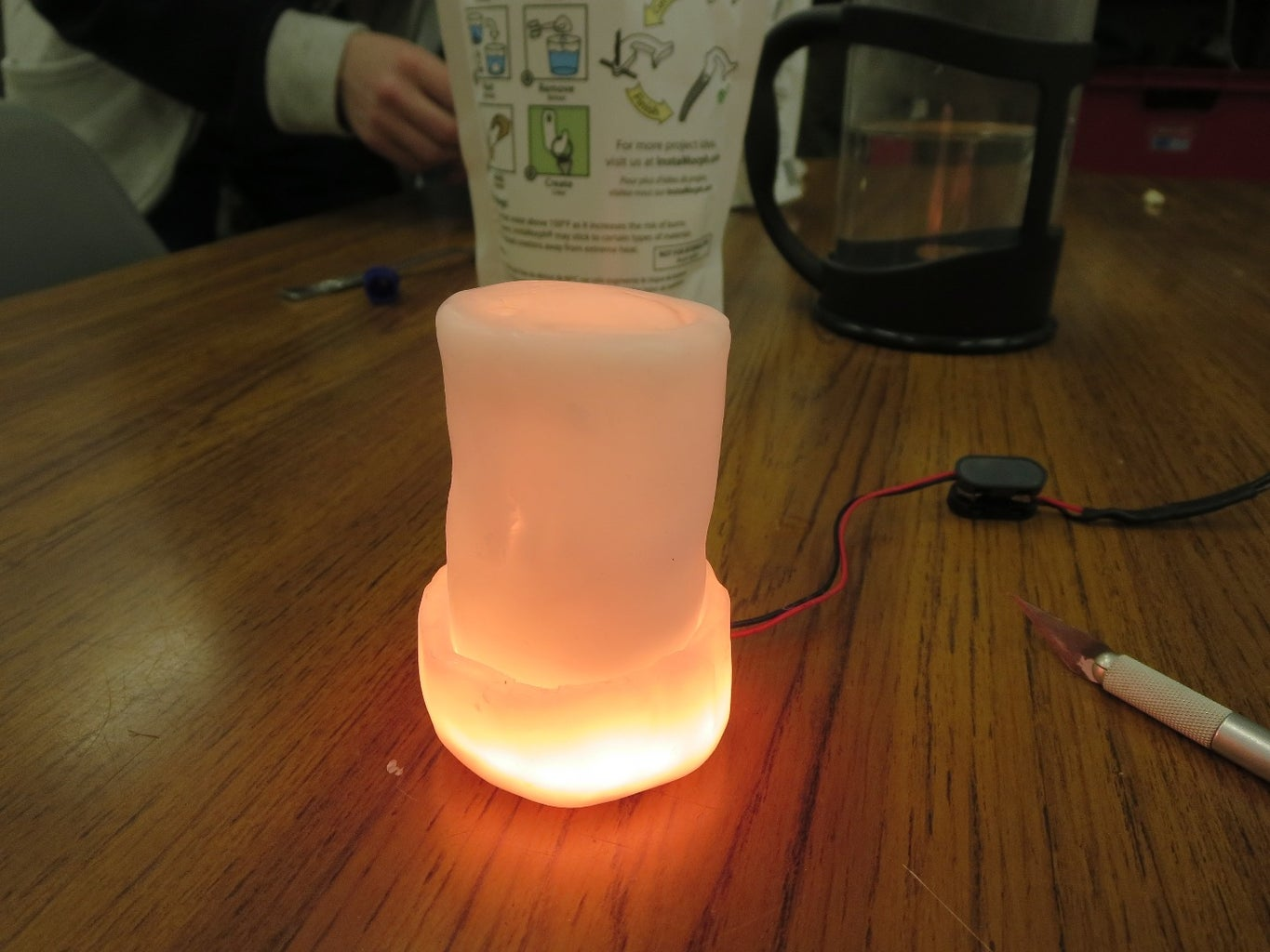 Arduino Controlled Electric Candle