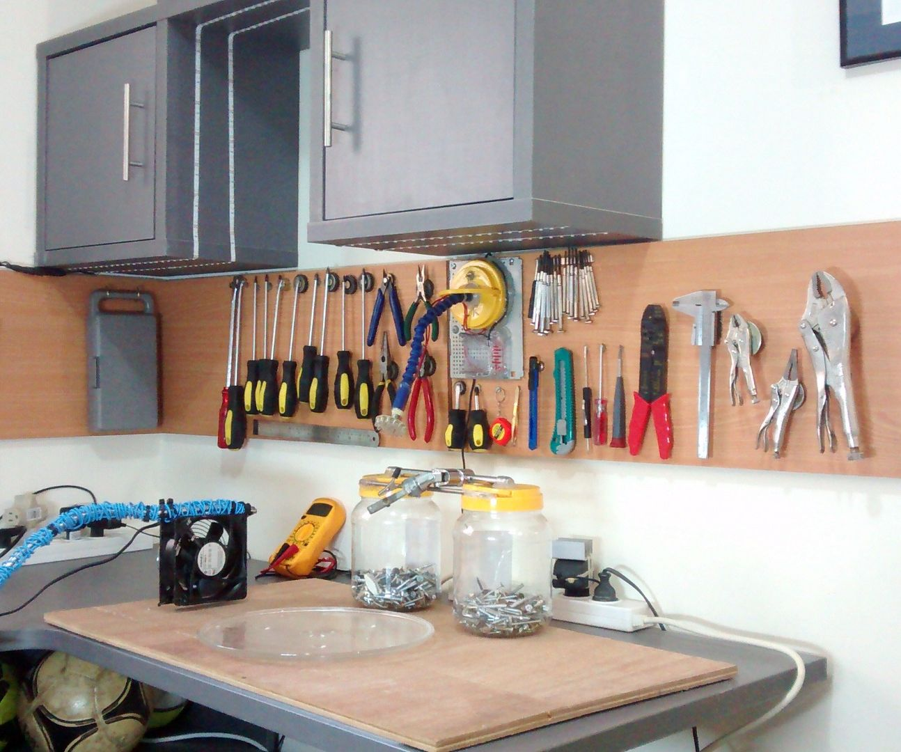 The Ultimate Magnetic Pegboard!
