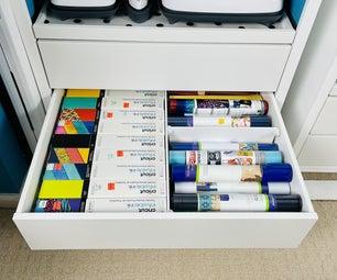 做你自己的抽屉隔板:简单的工艺组织!