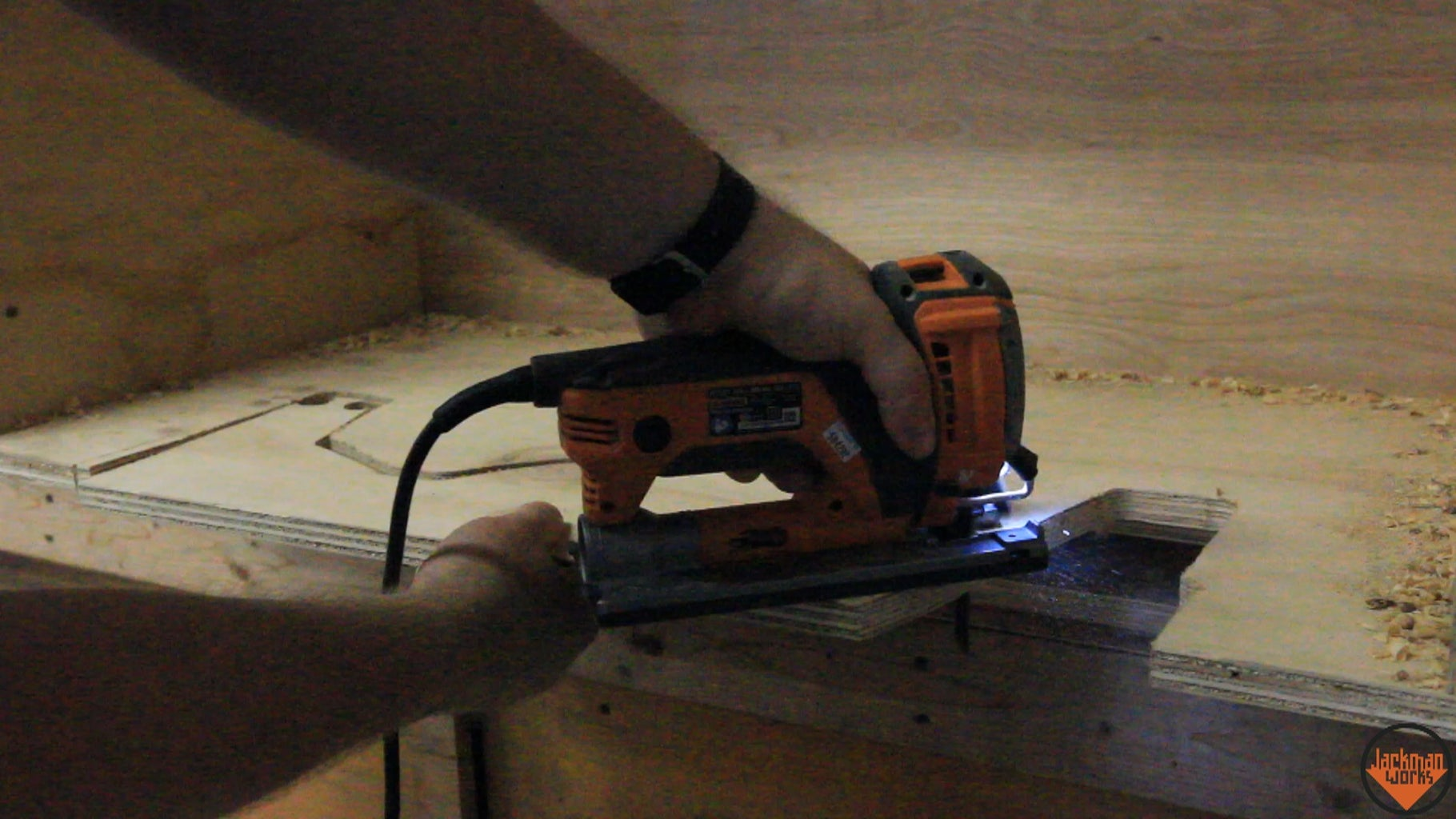 Fitting the Miter Saw