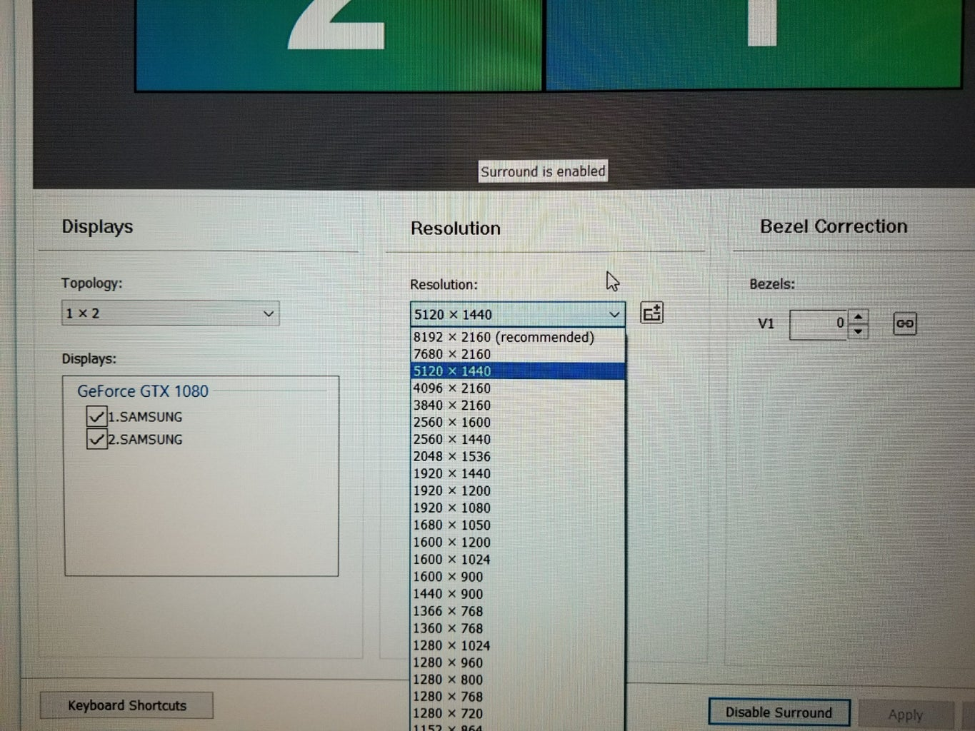 Setup Proper Resolution for the Series Screen According to Your GPU